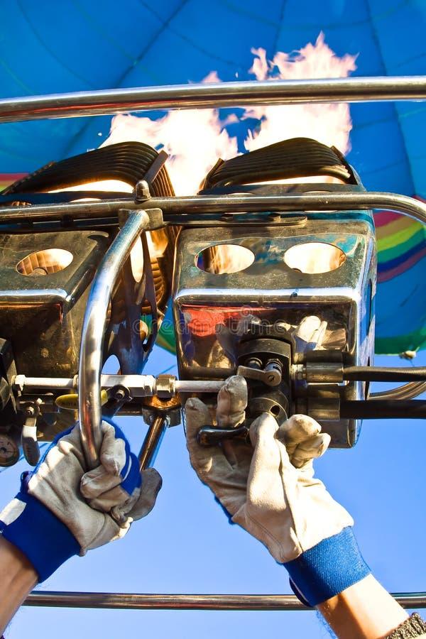 αέριο καυστήρων μπαλονιών στοκ φωτογραφία με δικαίωμα ελεύθερης χρήσης