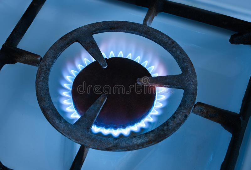 αέριο καυστήρων στοκ εικόνα