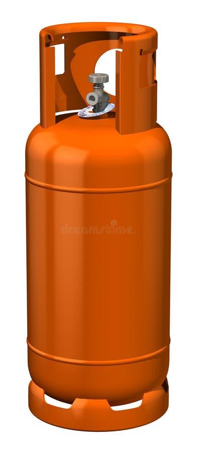 αέριο μπουκαλιών ελεύθερη απεικόνιση δικαιώματος