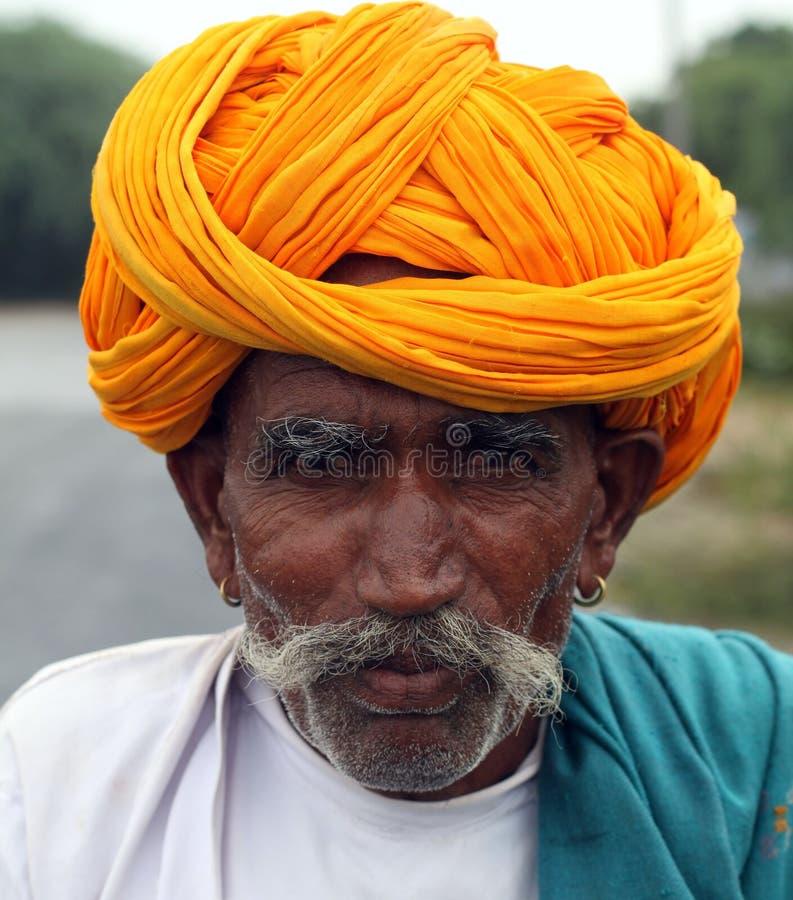 Αίγα Herder του Rajasthan, Ινδία στοκ φωτογραφίες με δικαίωμα ελεύθερης χρήσης