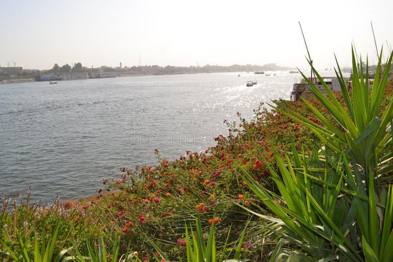 Αίγυπτος, Luxor, Νείλος στοκ φωτογραφία με δικαίωμα ελεύθερης χρήσης