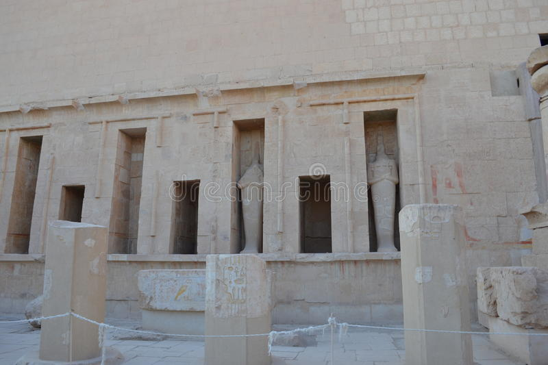 Αίγυπτος, Luxor Οι αρχαίοι πολιτισμοί στοκ εικόνα με δικαίωμα ελεύθερης χρήσης