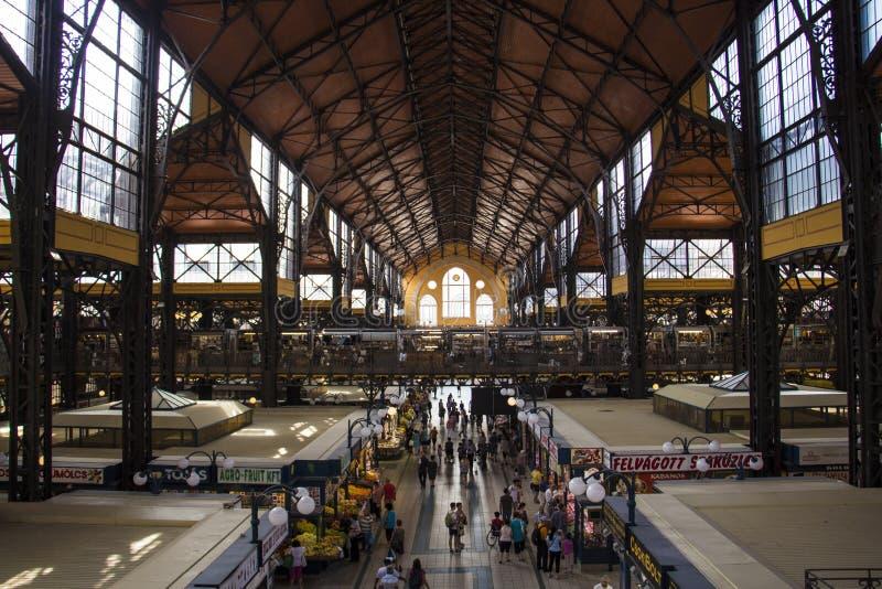 Αίθουσα αγοράς της Βουδαπέστης στοκ φωτογραφία με δικαίωμα ελεύθερης χρήσης