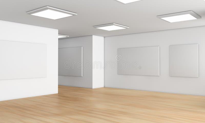 αίθουσα εκθέσεως απεικόνιση αποθεμάτων