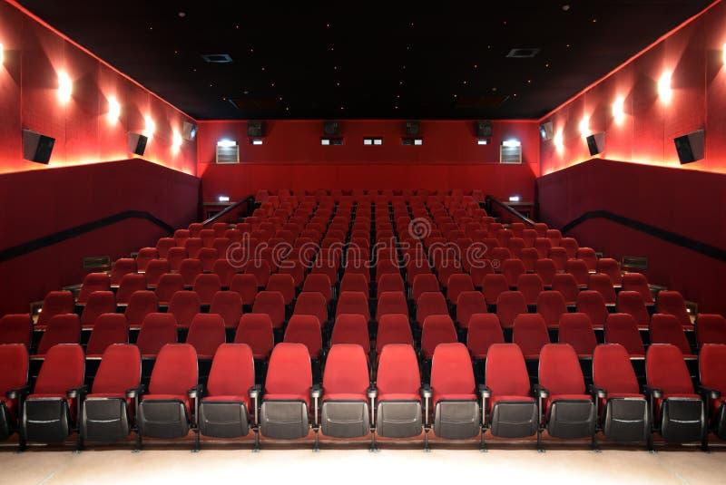 Αίθουσα ενός κινηματογράφου στοκ εικόνες με δικαίωμα ελεύθερης χρήσης