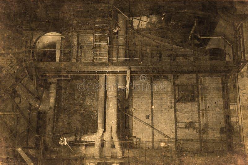 αίθουσα εργοστασίων στοκ φωτογραφία