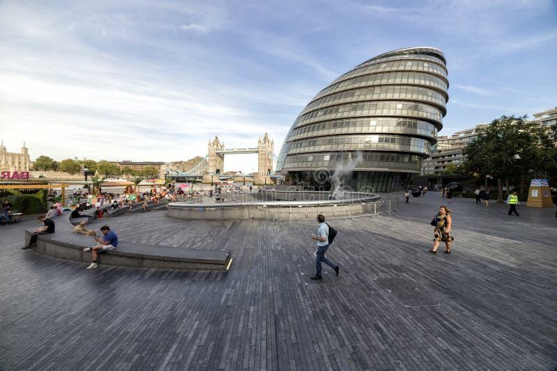αίθουσα Λονδίνο πόλεων στοκ φωτογραφίες με δικαίωμα ελεύθερης χρήσης