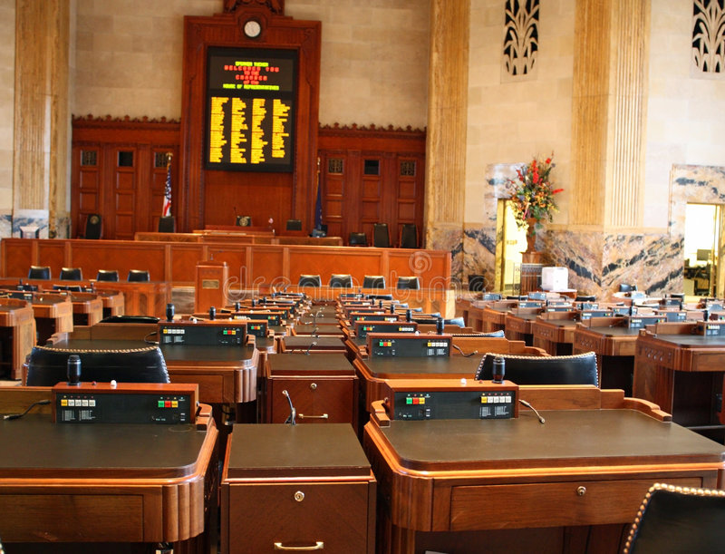 αίθουσα νομοθετική στοκ φωτογραφία με δικαίωμα ελεύθερης χρήσης