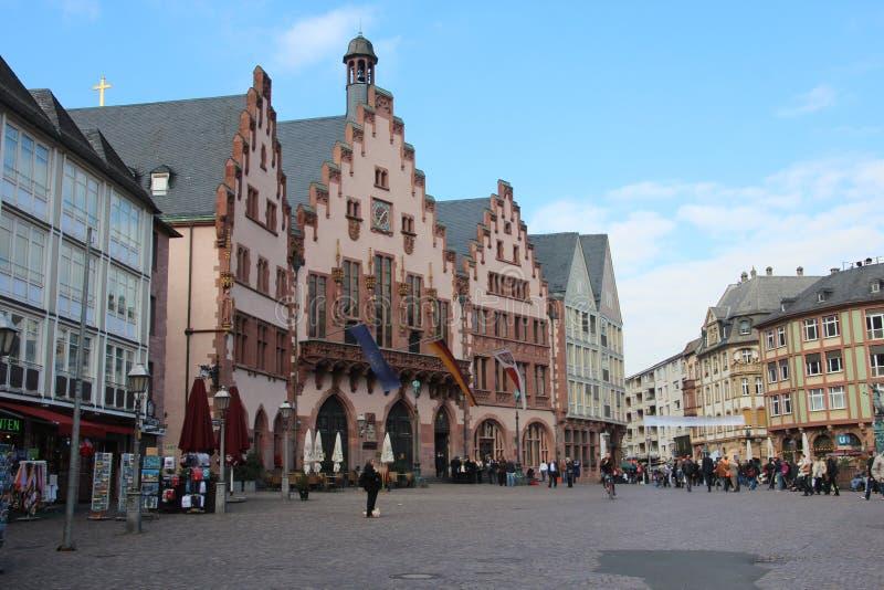 Αίθουσα πόλεων της Φρανκφούρτης στοκ εικόνες με δικαίωμα ελεύθερης χρήσης