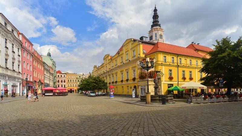 Αίθουσα πόλεων σε Swidnica στοκ φωτογραφία με δικαίωμα ελεύθερης χρήσης