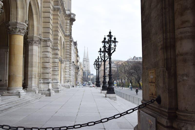 Αίθουσα πόλεων της Βιέννης στοκ εικόνα