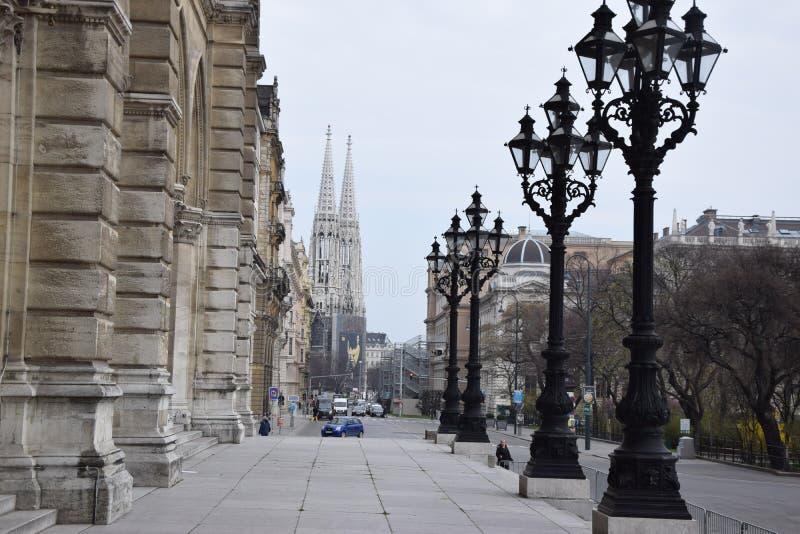 Αίθουσα πόλεων της Βιέννης στοκ εικόνες