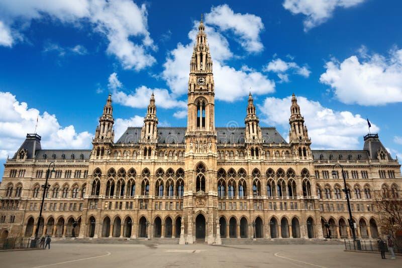 Αίθουσα πόλεων της Βιέννης στοκ εικόνα με δικαίωμα ελεύθερης χρήσης