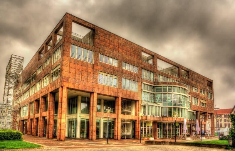 Αίθουσα πόλεων του Ντόρτμουντ - της Γερμανίας στοκ φωτογραφίες