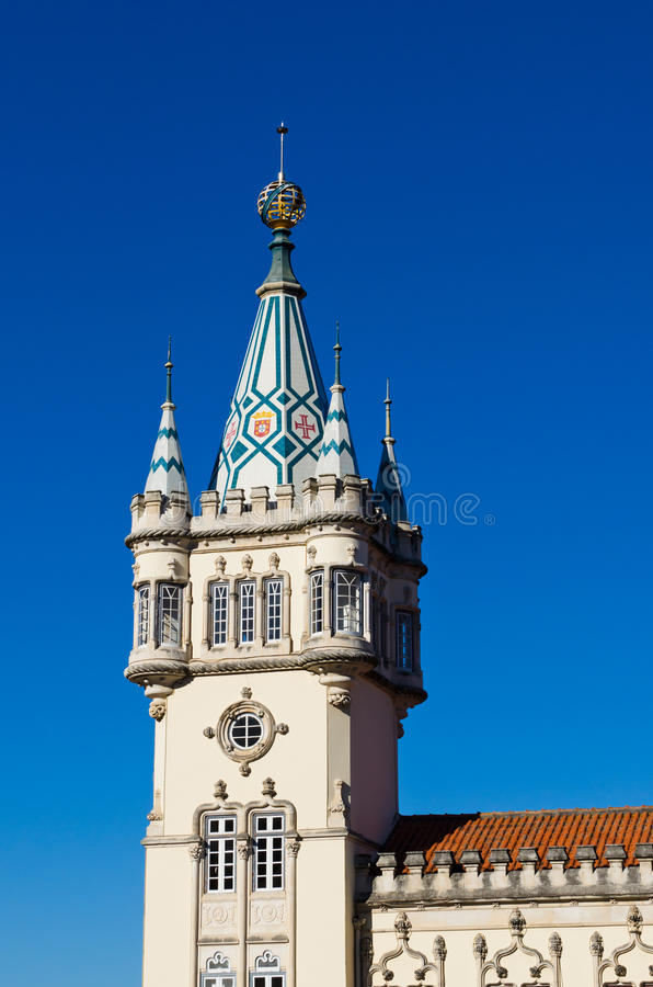 Αίθουσα πόλεων Sintra στοκ εικόνα