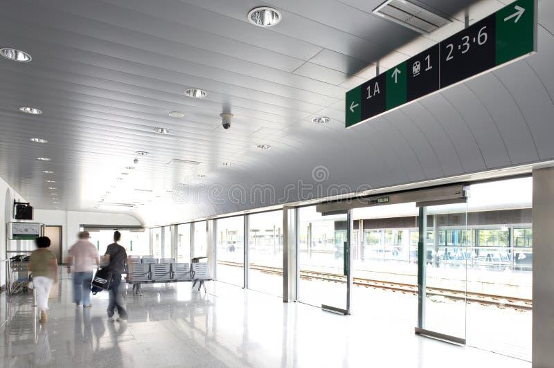 Αίθουσα σιδηροδρομικών σταθμών στοκ φωτογραφία