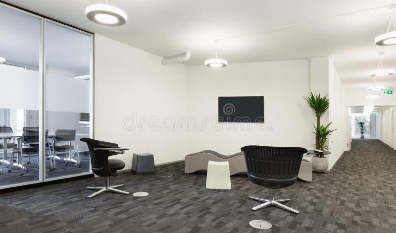 Αίθουσα στο σύγχρονο κτήριο στοκ φωτογραφία με δικαίωμα ελεύθερης χρήσης