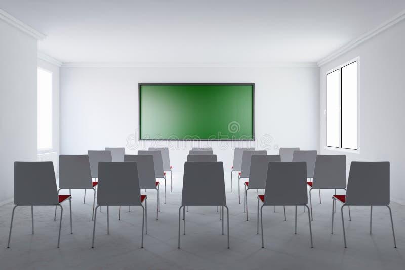 Αίθουσα συνεδριάσεων με το χαρτόνι ελεύθερη απεικόνιση δικαιώματος