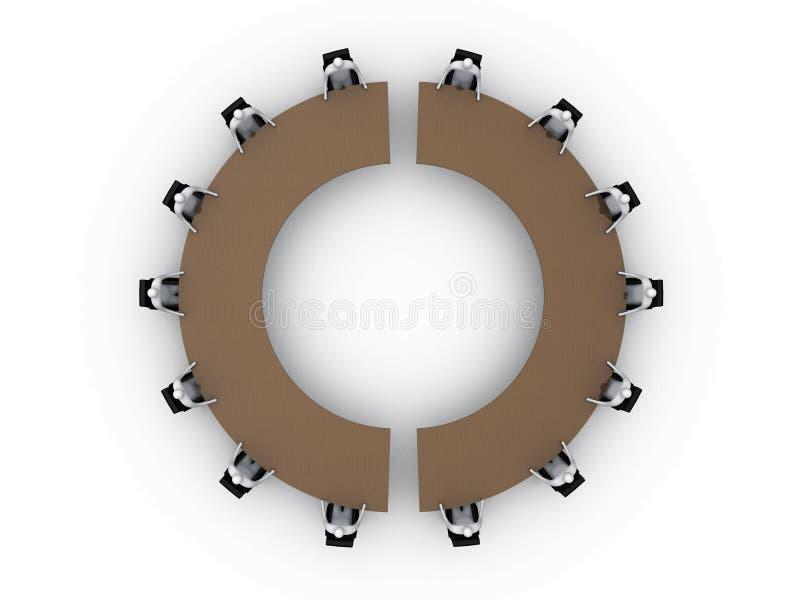 αίθουσα συνεδριάσεων 4 ελεύθερη απεικόνιση δικαιώματος
