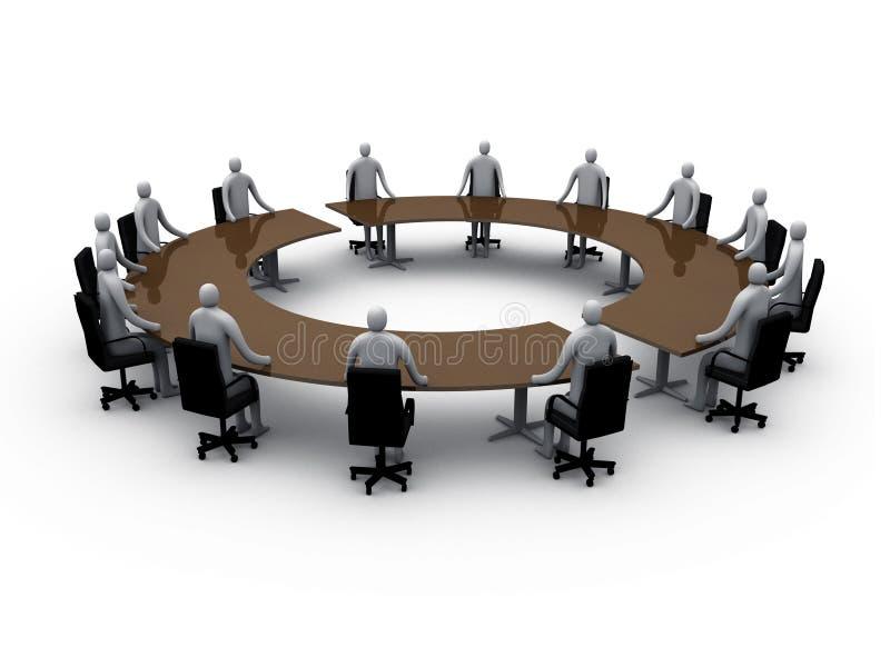 αίθουσα συνεδριάσεων 5 απεικόνιση αποθεμάτων