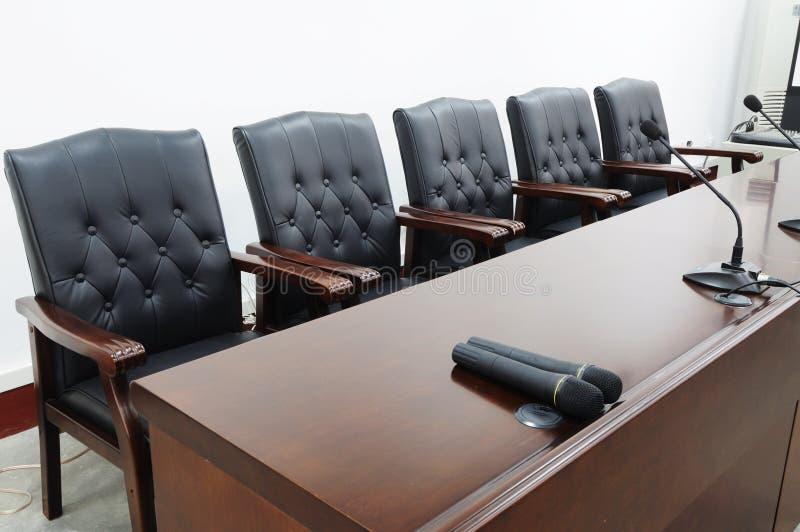 αίθουσα συνεδριάσεων &kappa στοκ εικόνες