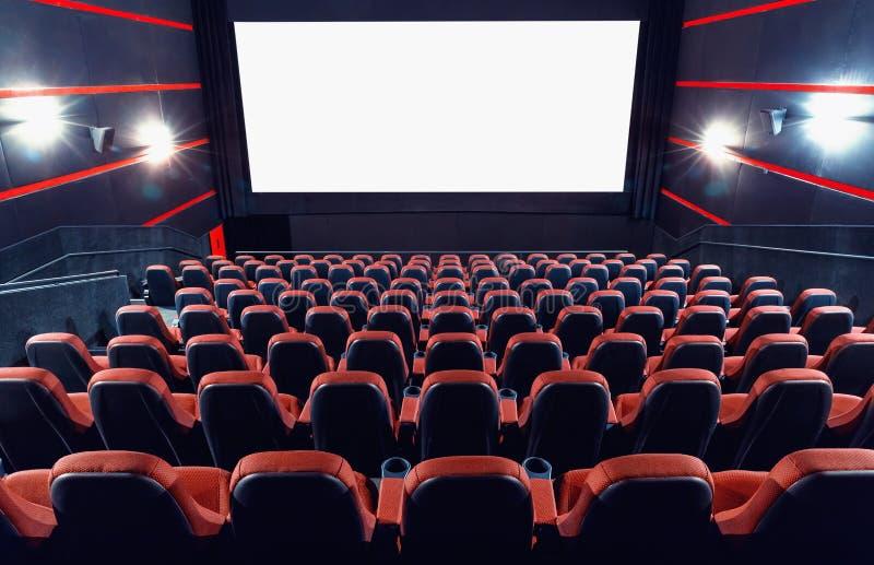 Αίθουσα συνεδριάσεων κινηματογράφων στοκ εικόνες