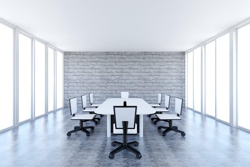 Αίθουσα συνεδριάσεων απεικόνιση αποθεμάτων