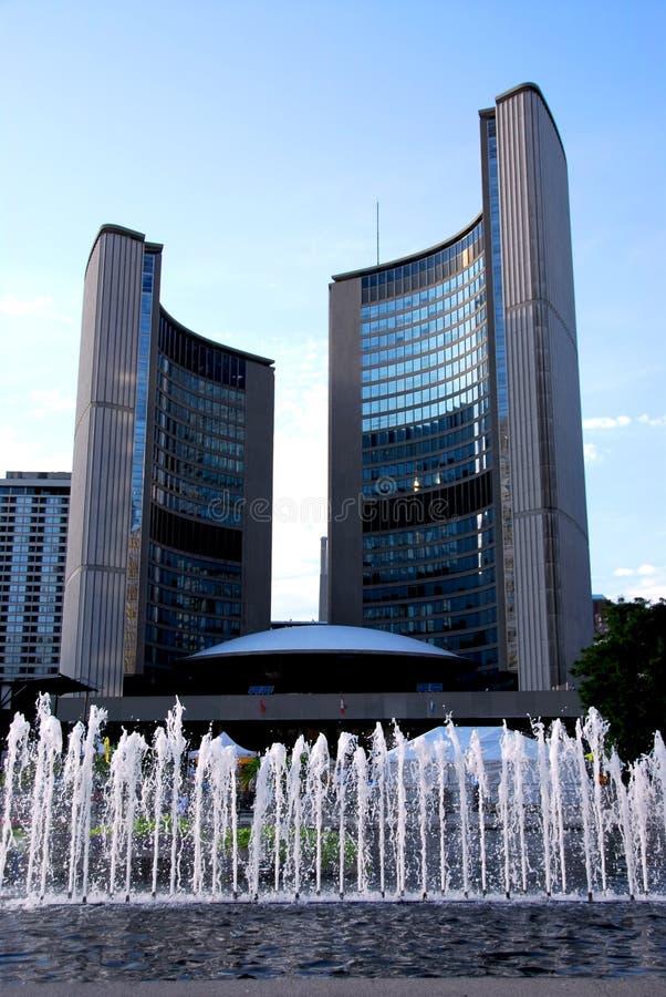 αίθουσα Τορόντο πόλεων στοκ φωτογραφίες με δικαίωμα ελεύθερης χρήσης
