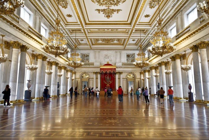 Αίθουσα του ST George (καλούμενη το μεγάλο δωμάτιο θρόνων) στοκ εικόνα