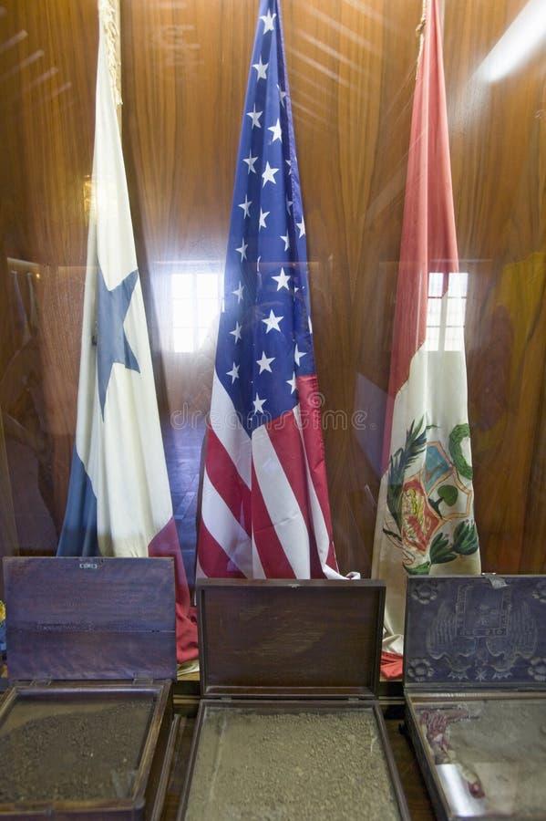 Αίθουσα των σημαιών, σεβασμός στο Λα Rabida από όλα τα έθνη της Αμερικής, 15ο Franciscan Monasterio de Santa Marï ¿ ½ στοκ εικόνες με δικαίωμα ελεύθερης χρήσης