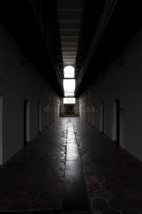 Αίθουσα φυλακών στοκ εικόνα με δικαίωμα ελεύθερης χρήσης