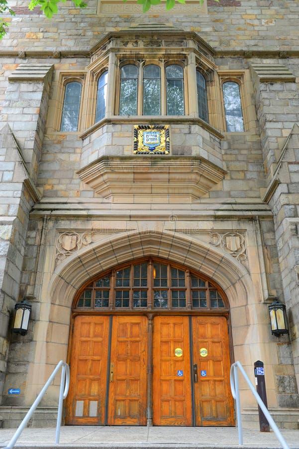 Αίθουσα Branford, πανεπιστήμιο Γέιλ, CT, ΗΠΑ στοκ εικόνα με δικαίωμα ελεύθερης χρήσης