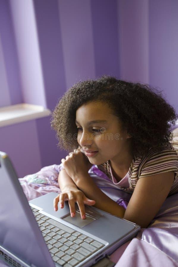 αίθουσα s lap-top κατσικιών στοκ φωτογραφίες με δικαίωμα ελεύθερης χρήσης