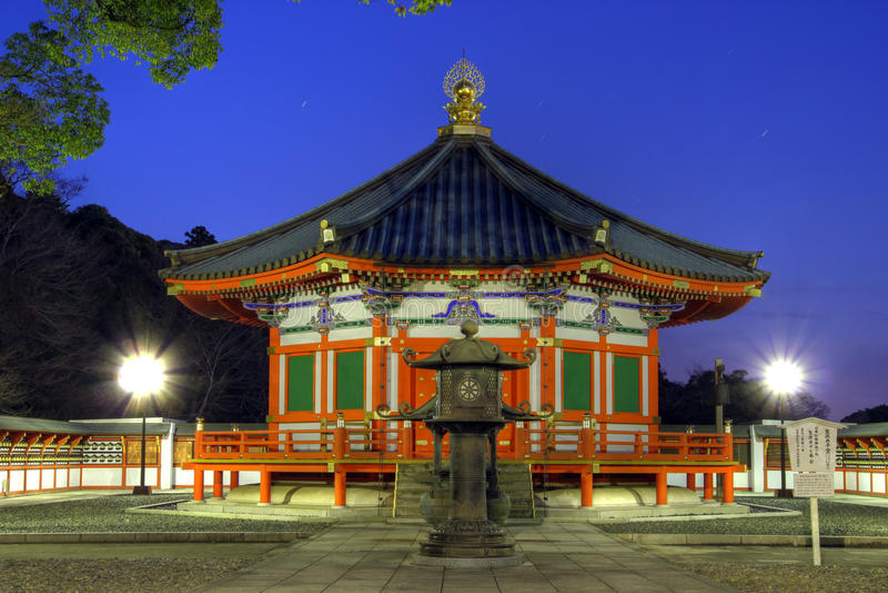 Αίθουσα Shotoku πριγκήπων σε Narita Shinshoji, Ιαπωνία στοκ φωτογραφία με δικαίωμα ελεύθερης χρήσης