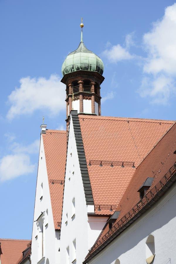 Αβαείο στο Άουγκσμπουργκ στοκ φωτογραφία με δικαίωμα ελεύθερης χρήσης