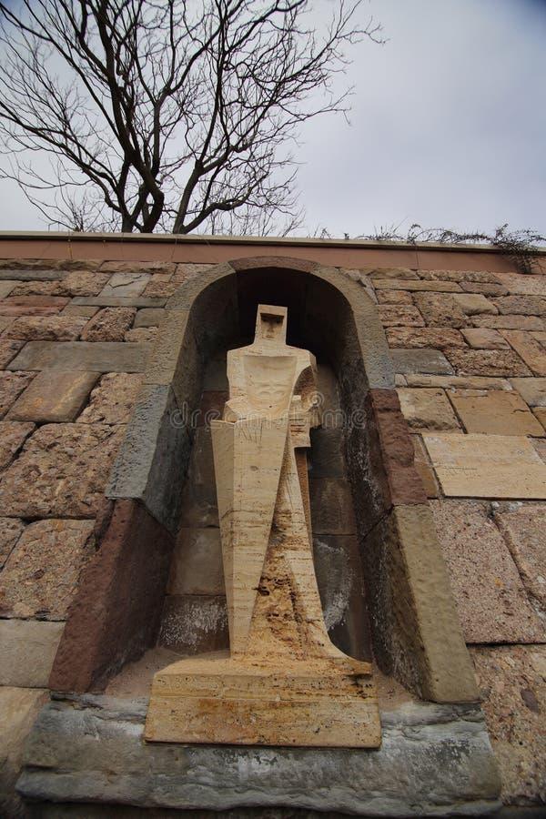 Αβαείο της Σάντα Μαρία de Μοντσερράτ, Ισπανία στοκ εικόνες