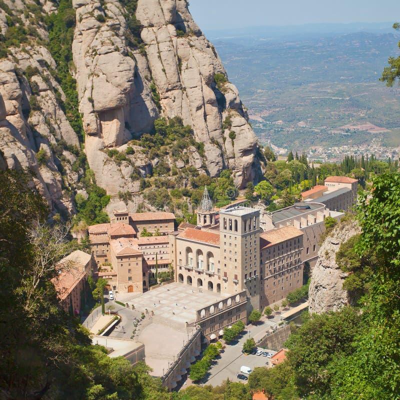 Αβαείο της Σάντα Μαρία de Μοντσερράτ στοκ εικόνες