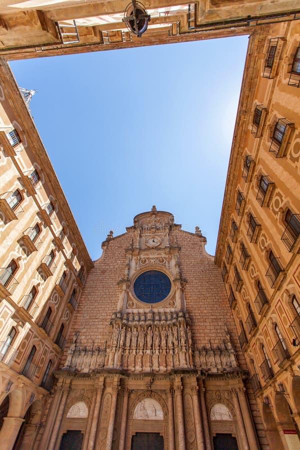 Αβαείο της Σάντα Μαρία de Μοντσερράτ στοκ φωτογραφία