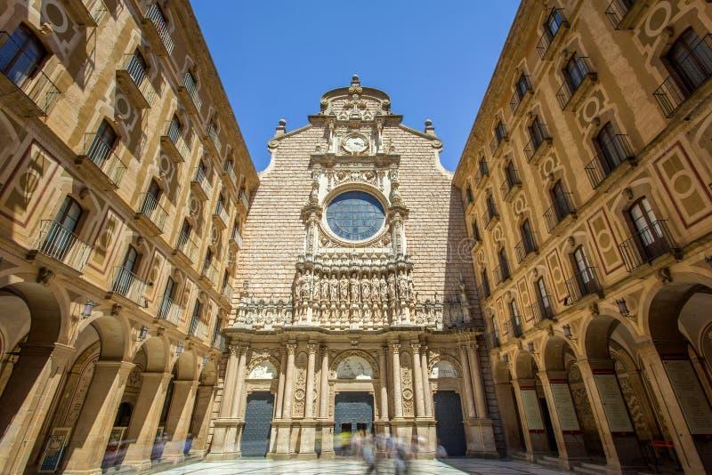 Αβαείο της Σάντα Μαρία de Μοντσερράτ στοκ φωτογραφίες