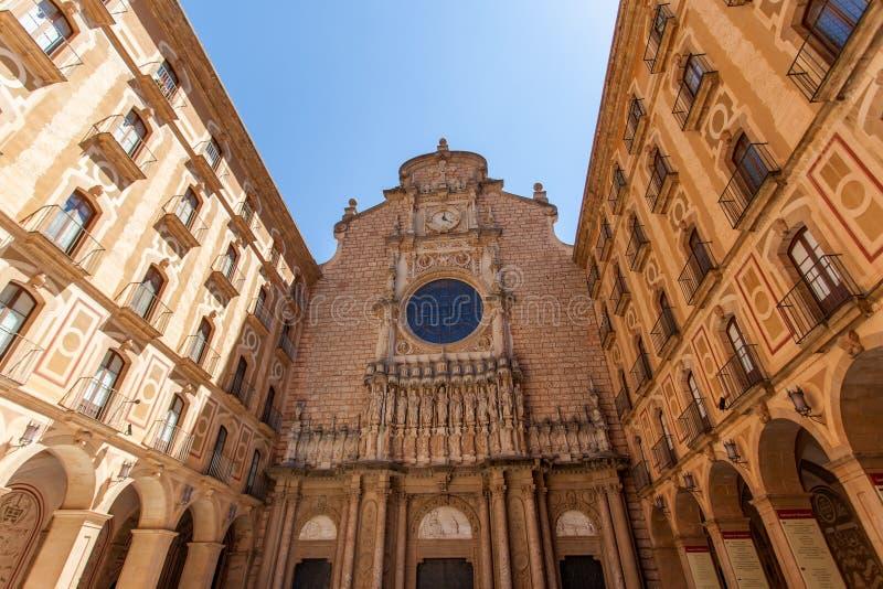 Αβαείο της Σάντα Μαρία de Μοντσερράτ στοκ εικόνα με δικαίωμα ελεύθερης χρήσης
