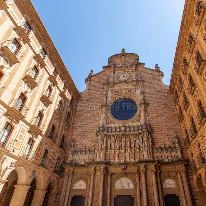 Αβαείο της Σάντα Μαρία de Μοντσερράτ στοκ φωτογραφία με δικαίωμα ελεύθερης χρήσης