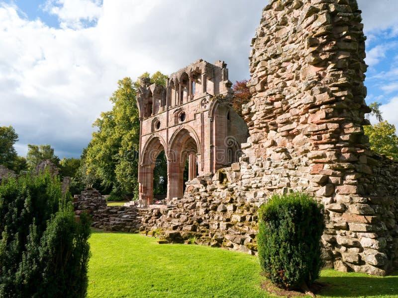 Αβαείο Dryburgh, σκωτσέζικα σύνορα στοκ φωτογραφίες με δικαίωμα ελεύθερης χρήσης