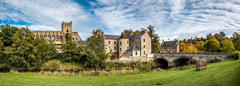 Αβαείο Jedburgh στην παραμεθόρια περιοχή της Σκωτίας στοκ φωτογραφίες με δικαίωμα ελεύθερης χρήσης