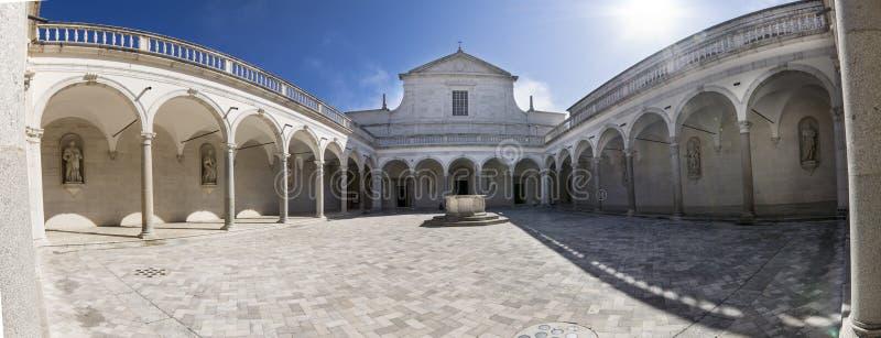 Αβαείο Montecassino στοκ φωτογραφία με δικαίωμα ελεύθερης χρήσης
