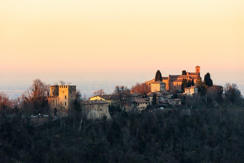 Αβαείο Monteveglio, Μπολόνια - Ιταλία στοκ φωτογραφία