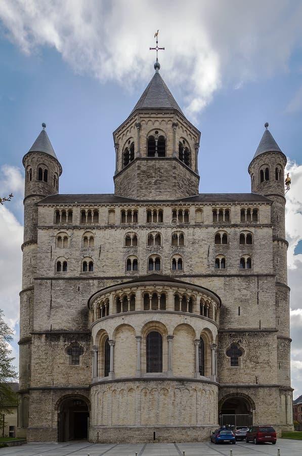 Αβαείο Nivelles, Βέλγιο στοκ εικόνες με δικαίωμα ελεύθερης χρήσης
