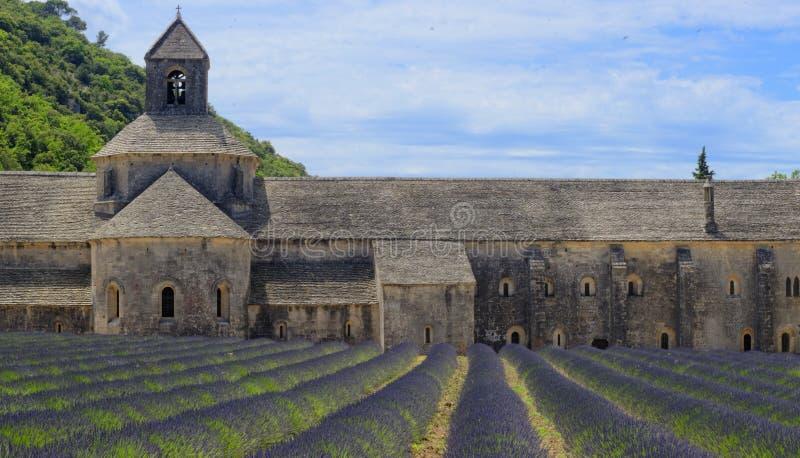 Αβαείο Senanque στην Προβηγκία στοκ εικόνα με δικαίωμα ελεύθερης χρήσης