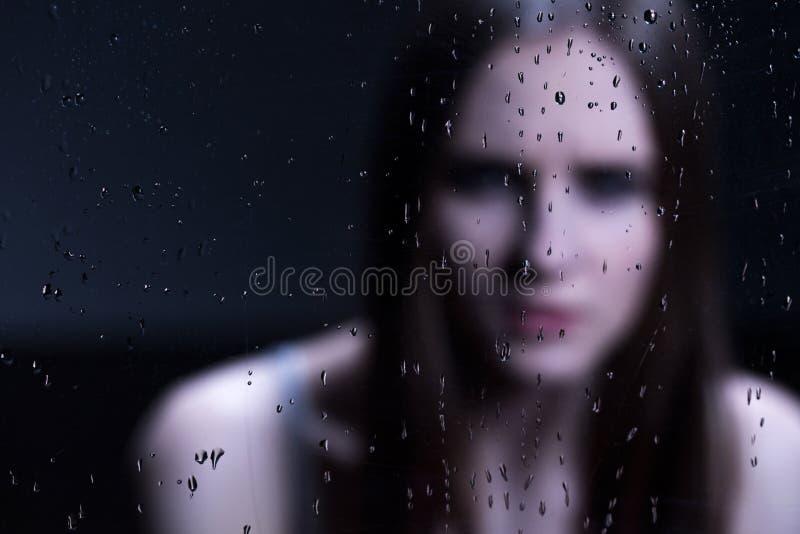 Αβεβαιότητα και φόβος του εφήβου στοκ φωτογραφία με δικαίωμα ελεύθερης χρήσης
