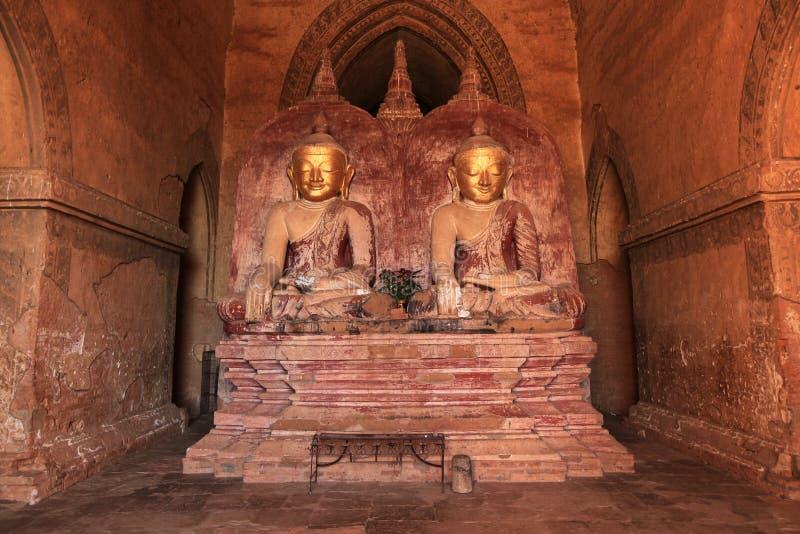 αγάλματα παγοδών gautama του Βούδα στοκ εικόνα με δικαίωμα ελεύθερης χρήσης