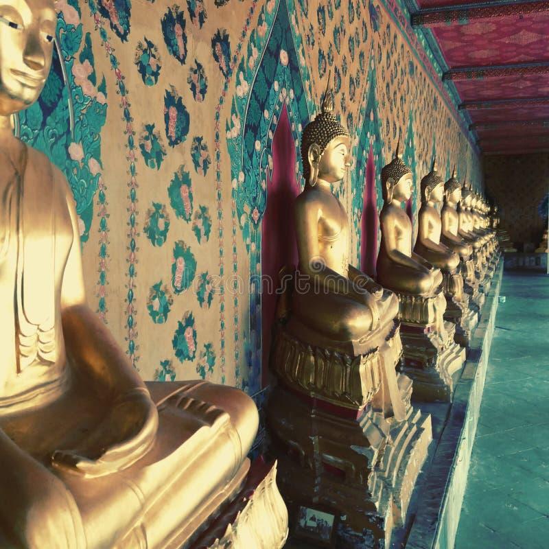 Αγάλματα του Λόρδου Βούδας στην Ταϊλάνδη στοκ φωτογραφίες με δικαίωμα ελεύθερης χρήσης